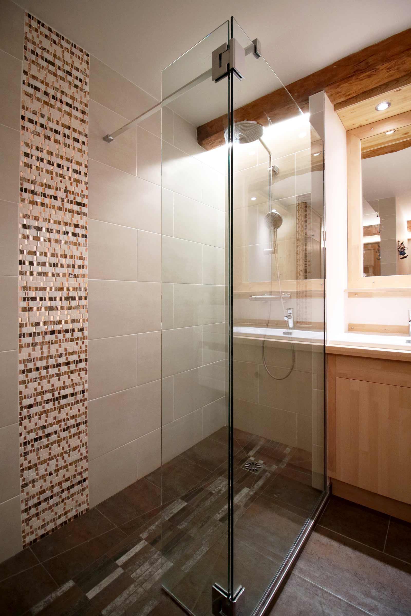 Specialiste Salle De Bain Toulouse ~ Renover Salle De Bain Grenoble Douche Italienne Mosaique Paroi De